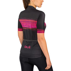 Alé Cycling Solid Start SS Jersey Damen black-proc.magenta